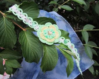 Cute Lime Choker, Lime Choker, Green Choker, Vintage Choker Art Deco Necklace, Green Necklace, Lime Necklace, Cute Necklace, Cute Green Gift