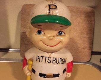 1960's Pittsburgh Pirates Batboy Bank