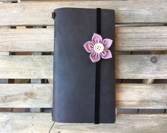 Elastic Band Notebook,Flower headband,Baby Headband,Kanzashi,Elastic Velvet Headband,Fabric Flower, Baby & Mum Accessories, Newborn Headband