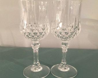 Vintage Crystal Wine or Shot glasses