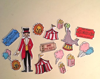 Carnival Sticker Set