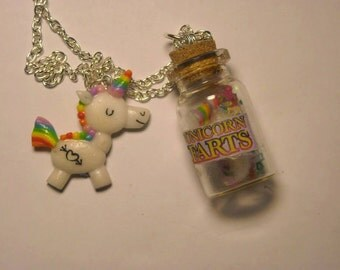 Unicorn farts necklace