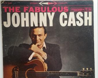 Johnny Cash The Fabulous Johnny Cash Vinyl Record CS 8122