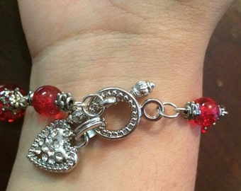 Beautiful Red brazalet