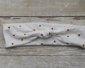 Gold Triangle Headband