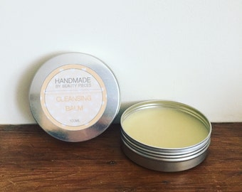 handmade cleansing balm 100ml - all natural, toning and hydrating, makeup removal, a natural balm for cleansing, skincare, gift for her
