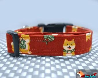 Shiba Inu Dog Collar - The Traveling Shibi