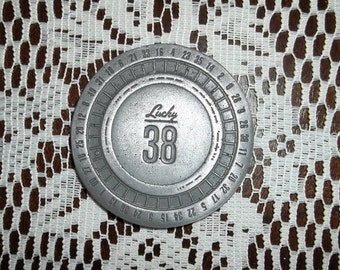 Lucky 38 Platinum Chip