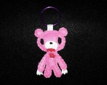 Plushie gloomy bear keychain