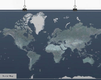 Midnight World Map