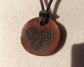 Ceramic Pagan Pendant