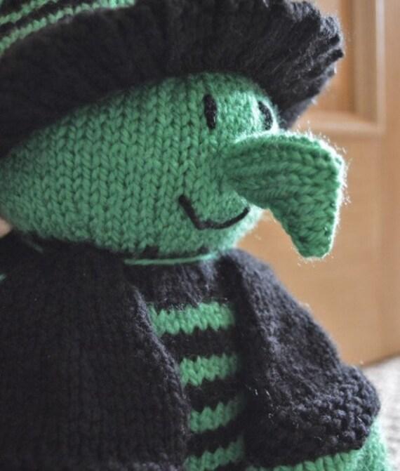 Witch Door Stop Knitting Pattern Halloween Door Stop Knit