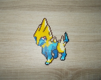Pokemon big sprite : Manectric/Elecsprint pixel art