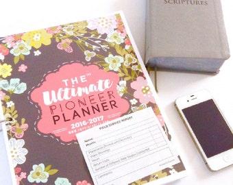 The Ultimate Pioneer Planner™ | JW Planner | Jw Pioneer | Jehovah's Witnesses | JW | JW Printables | Ministry Planner