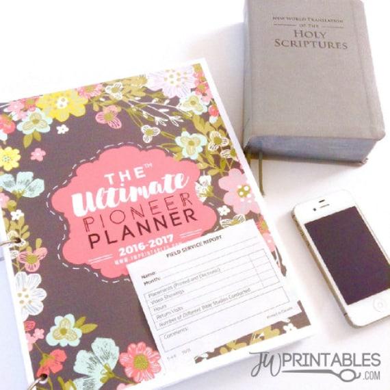 The Ultimate Pioneer Planner Jw Planner Jw Pioneer