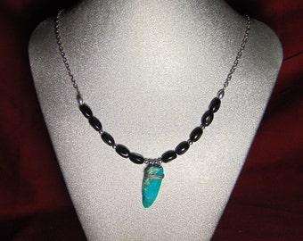 Jasper Night Necklace