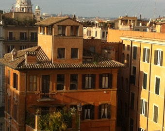 Rome #2101 - View from The Spanish Steps, Rome, Italy