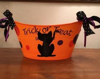 Halloween Candy Tub