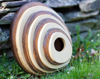Unique Circular layered birdhouse