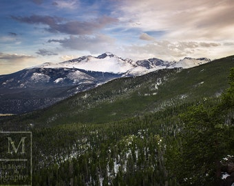 Rocky Mountain Sunset Photo Print