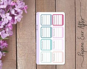 Gratitude boxes, gratitude planner stickers, thankful planner stickers, FU018