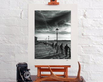 Black and White Baryta Photographic Print, Liverpool. Limited Edition, Signed and Numbered 16x12