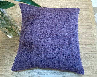 18'' x 18'' Lavender Purple Pillow Cover