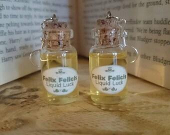 Felix Felicis potion Earrings, Harry Potter Inspired Earrings, Felix Felicis potion, Harry Potter Jewelry