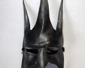 Jester Mask Design 4... Mask Handmade Leather Mask Venetian Masquerade