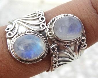 """Shop """"rainbow moonstone"""" in Rings"""