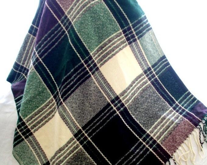 green blanket scarf, blanket shawl, scarves for women, soft scarf, cozy scarf, trendy scarf