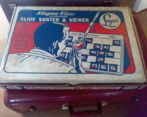 Logan Magnifying Slide Viewer, Slide sorter, model 1050, new in the box , made in the USA Chicago Ill.