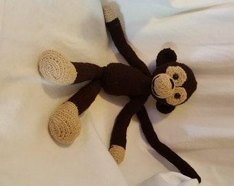 Amigurumi Brown or Gray Monkey
