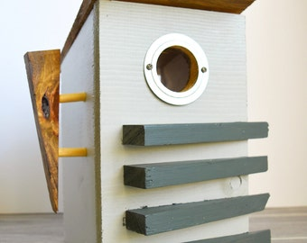 Midcentury Modern Birdhouse Model #7