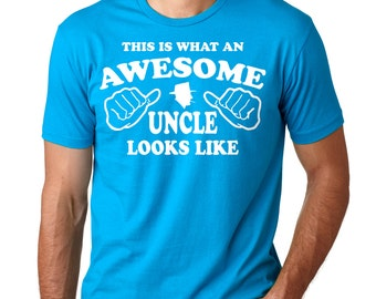 Gift For Uncle T-Shirt Family T-Shirt Birthday Gift Tee Shirt