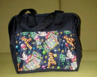 6 pocket bingo dauber bag  Betty Bingo design
