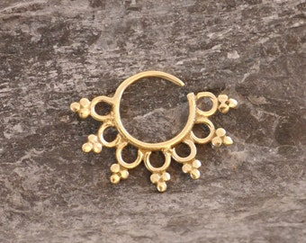 Septum brass ring
