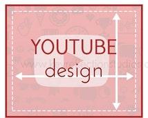 Youtube Channel Banner - Youtube Graphic Design - Graphic Design- Social Media Design - Graphics - Avatar Design - Shop Design