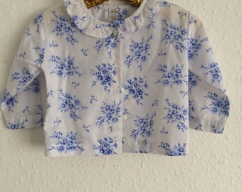 Vintage Adams Blouse - 6 to 12 months