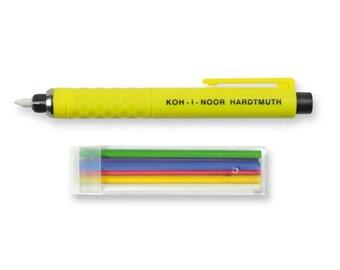 Taylor chalks set Koh I Noor S128 mechanical pencil leadholder for fashioner sewer tailor dressmaker couturier snip sewing