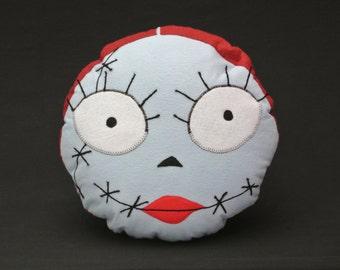 Franken-Babe Pillow