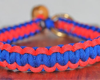 Red/Blue 15 in. Collar (Small/Medium Dogs)