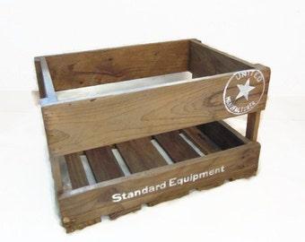 Wooden pallet box,