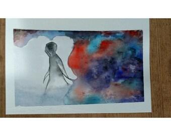 Watercolor- Oddity