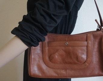 Vintage Brown Shoulder Purse