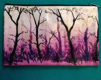 Purple Woods Pouch