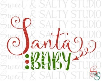 santa baby digital file
