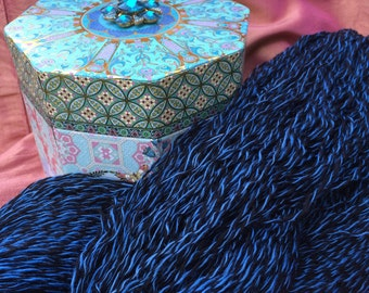 Hand-spun and hand-dyed - Alpaca/Bamboo yarn