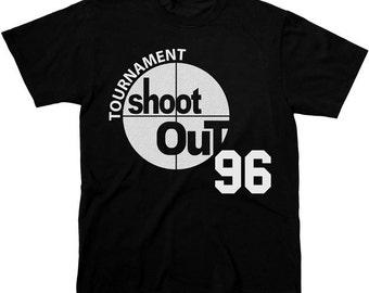 """SHOOTOUT TOURNAMENT """"Above the Rim"""" - Men's T-Shirt"""