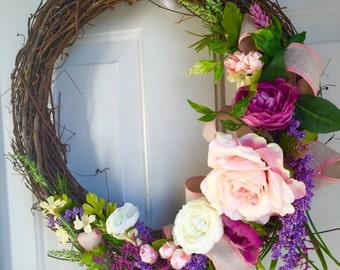 Spring Midsummer Night's Dream Wreath